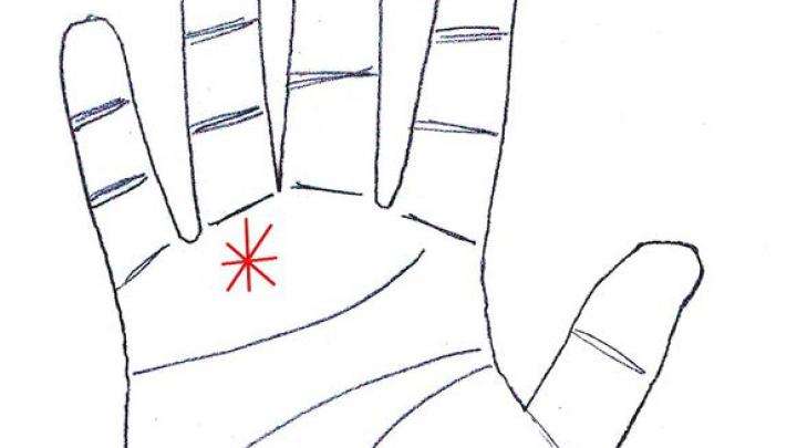 Este un semn special pe care îl au mulți oameni! Semnificaţia stelei din palmă în funcție de poziția ei