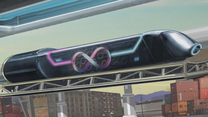 Un nou test trecut cu succes de trenul supersonic care va traversa Europa (VIDEO)