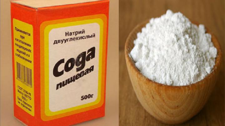 bicarbonat de sodiu pentru vedere)