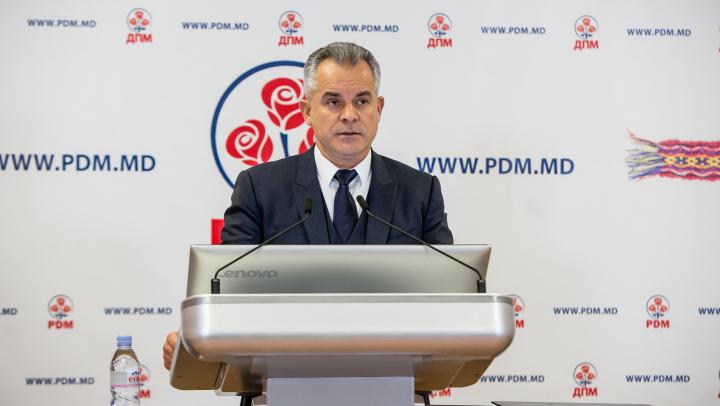 Vlad Plahotniuc: Ar fi o sinucidere politică pentru un partid de opoziție să spună că va face alianță cu partidul de la guvernare
