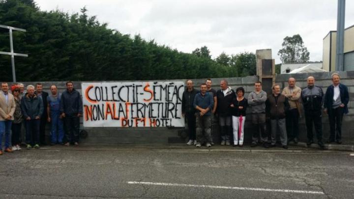 În Franța localnicii au ridicat un zid în jurul unui hotel pentru a nu găzdui imigranții