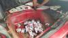 17 mii de ţigări din Republica Moldova, ascunse în rezervoarele a două autoturisme, iar alte o mie în cuptorul unui vapor (FOTO)