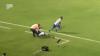 Incident la un meci din Brazilia. Un fotbalist şi-a accidentat propriul antrenor