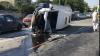 Noi detalii în cazul accidentului de la Peresecina: Trei dintre pasagerii microbuzului răsturant rămân internați