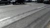 NO COMMENT! La câteva luni după ce a fost turnat, asfaltul de pe bd. Ștefan cel Mare S-A DISTRUS (FOTO)