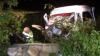 GRAV ACCIDENT RUTIER cu implicarea unui microbuz de linie. Şapte persoane au ajuns la spital (FOTO/VIDEO)