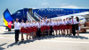 De Ziua Independenţei, însoțitorii de bord ai companiei Air Moldova au îmbrăcat costume naționale (FOTO)