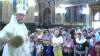 Sute de enoriaşi au mers la biserică pentru a sărbători Schimbarea la Faţă a Domnului