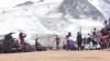 Competiţie neobişnuită în Alpii francezi! După Campionatele Mondiale de Atletism de la Londra, sportivii au organizat un turneu în munţi