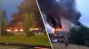 Incendiu puternic în oraşul britanic Glasgow! Pompierii s-au luptat cu focul ore întregi