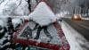 Ninge în luna august. În România stratul de zăpadă a ajuns până la 5 centimentri