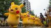 Peste 100 de Pikachu au dansat pe străzile din Japonia, în cadrul festivalului dedicat jocului Pokemon Go