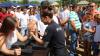"""Caravana """"Împreună pentru siguranța ta"""" a ajuns și în nordul țării. Ce activități au organizat oamenii legii (FOTO)"""