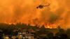 Incendii devastatoare în Grecia. Pompierii luptă pentru a evita răspândirea flăcărilor
