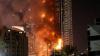 Incendiu de proporții în Dubai. Flăcările au cuprins partea superioară a unei clădirii cu 86 de etaje