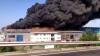 INCENDIU DEOSEBIT DE VIOLENT. Arde hala unei fabrici (VIDEO)