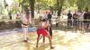 Luptă corp la corp la Ialoveni, de Ziua Limbii! Trei berbeci au fost premiul câştigătorilor