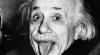 Celebra fotografie în care EINSTEIN scoate limba, vândută la o licitație de la Los Angeles pentru 125 de mii de dolari