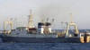 O navă sub pavilionul Moldovei a fost REȚINUTĂ de FSB-ul rusesc în largul Mării Okhotsk