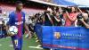 """Fanii Barcelonei sunt furioşi! Au scandat """"Bartoméu demisia!"""" în timpul prezentării noului jucător, Ousmane Dembelé"""