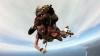 GEST TERIBILIST. Un bărbat a sărit gol cu parașuta cântând la vioară (VIDEO)