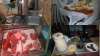 Condiţii insalubre la două magazine din Capitală. Poliţia a depistat produse alimentare cu termeni expiraţi şi băuturi contrafăcute (VIDEO)