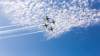 Sărbătoare cu mult fast şi show aviatic la Orhei. La Râşcani a fost organizată o tombolă inedită şi o horă de zile mari