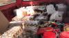 Produse alimentare EXPIRATE şi alcool CONTRAFĂCUT, depistate de Serviciul Vamal (FOTO)