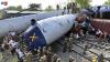 ACCIDENT FEROVIAR GRAV: Cel puţin 40 de persoane au fost rănite
