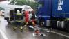 Accident rutier în România. Trei persoane au murit după ce o autodubă a ieşit pe contrasens şi a lovit un TIR