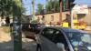 Haos pe strada Vasile Lupu. Pietonii merg pe stradă iar mașinile pe trotuar (VIDEO)
