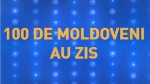 """Mister elucidat! Cine va fi prezentatorul show-ului """"100 de moldoveni au zis"""" (VIDEO)"""