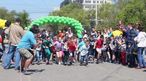 """Copii din toate colţurile ţării se vor întrece la alergat pe distanţa de 200 de metri la maratonul """"Kids Run Day"""""""