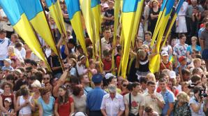 Paradă militară impresionantă! Ucraina marchează 26 de ani de la declararea independenței