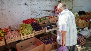 Legumele şi fructele, mai ieftine în luna iulie
