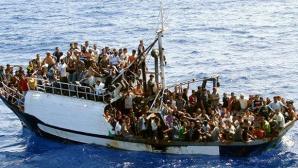 Ambarcațiune supraîncărcată cu migranți irakieni, interceptată de polițiștii români