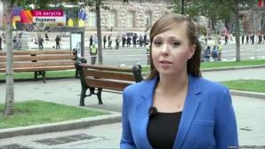 O jurnalistă de la Pervîi Kanal a fost arestată la Kiev. Anna Kurbatova va fi expulzată în urma unui reportaj prea critic