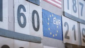 CURS VALUTAR 1 septembrie 2017. Leul moldovenesc se apreciază faţă de moneda unică europeană
