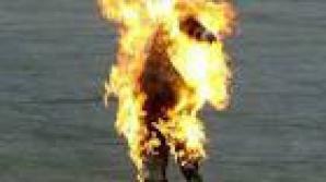 Caz dramatic. O femeie și-a dat foc, după ce a aflat că suferă de o boală cumplită