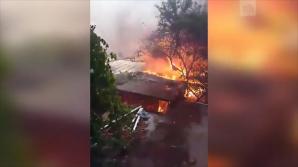 INCENDIU DE AMPLOARE în oraşul rus Rostov pe Don. Autorităţile au declarat STARE DE URGENŢĂ (VIDEO)
