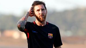 Gestul făcut de Lionel Messi a pus pe jar fanii Barcelonei