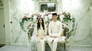 Nuntă de basm. Prințesa Malaeziei s-a căsătorit cu un fost fotbalist olandez. Cât a plătit mirele pentru fată (FOTO)