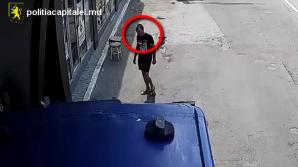 ATENŢIE! Se caută un hoţ. Sună la poliţie dacă îl recunoşti (VIDEO)
