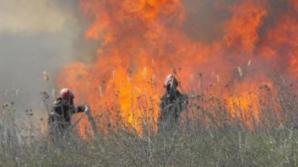 Pompierii la datorie. Mai multe incendii din ţară au fost stinse în ultimile 24 de ore