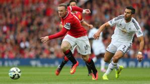 Manchester United s-a impus cu 4-0 în faţa lui Swansea City