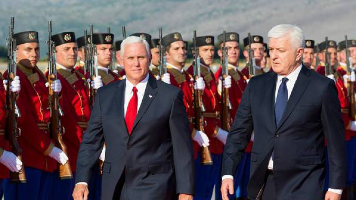Vicepreşedintele Statelor Unite: Viitorul statelor din Balcani este alături de Occident. Rusia - impredictibilă și destabilizatoare