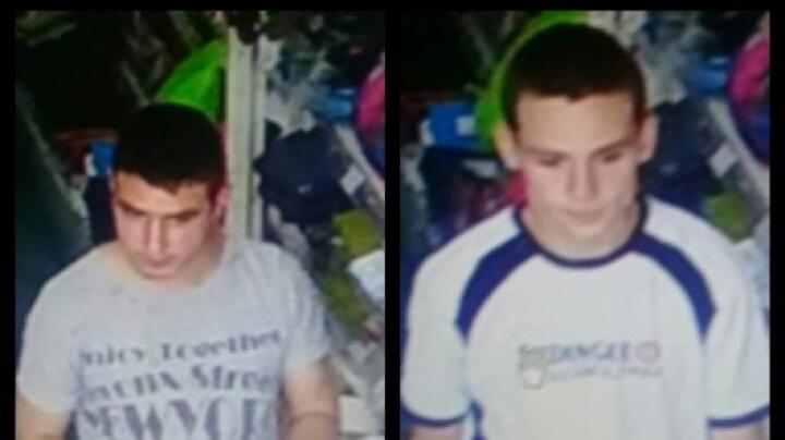 Doi tineri sunt căutaţi de Poliţie! Oamenii legii solicită ajutorul cetățenilor pentru a-i identifica