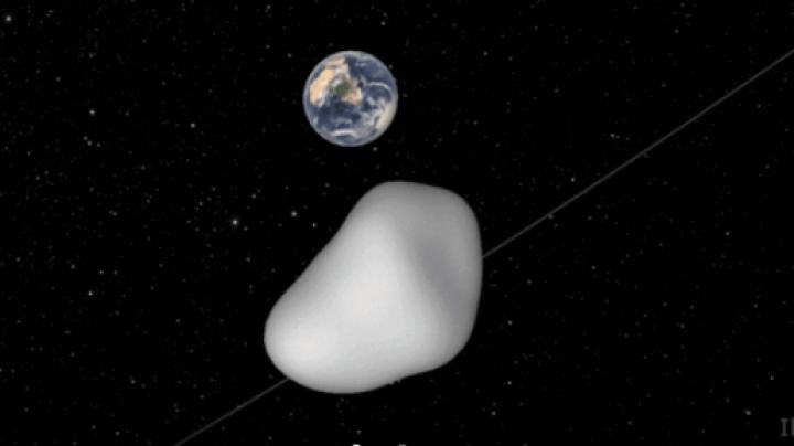 NASA testează un sistem de detecție cu prilejul apropierii de Terra a unui asteroid