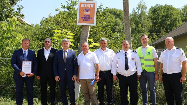 """Un nou sector de """"Supraveghere de Vecinătate"""" a fost lansat în comuna Geamăna"""