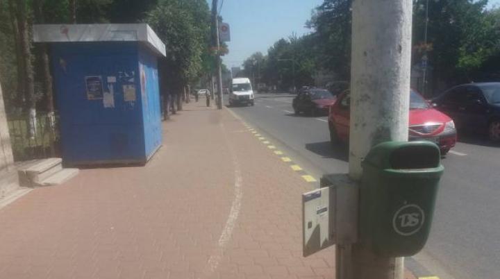 Piste de biciclete trasate parcă pentru beţivi (FOTO)
